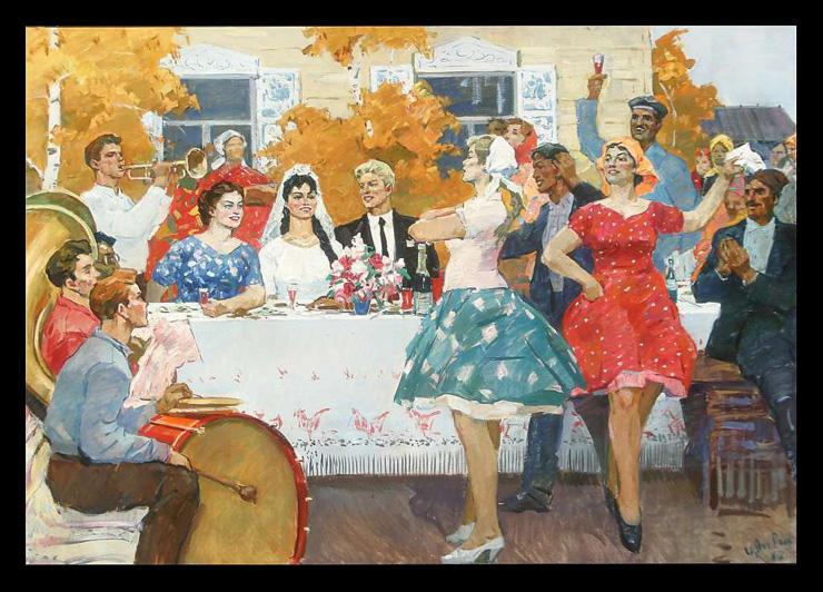 weddings in Soviet Russia 26