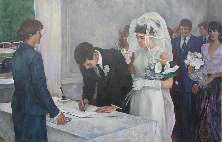 weddings in Soviet Russia 3
