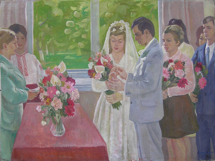 weddings in Soviet Russia 4