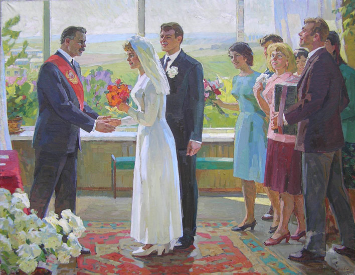 weddings in Soviet Russia 5