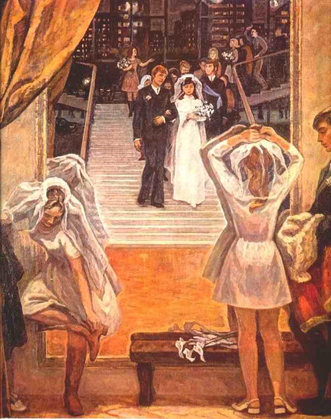 weddings in Soviet Russia 6