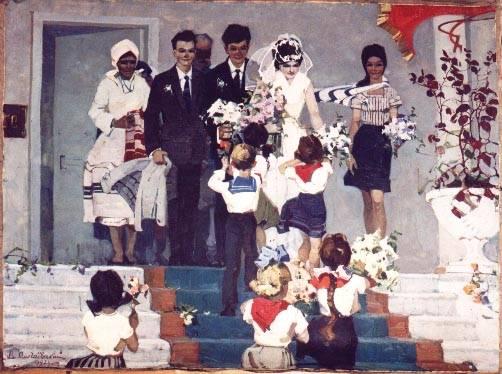weddings in Soviet Russia 7