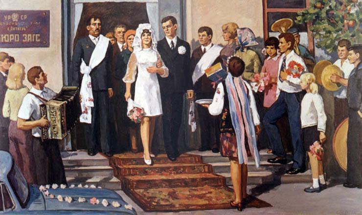 weddings in Soviet Russia 8
