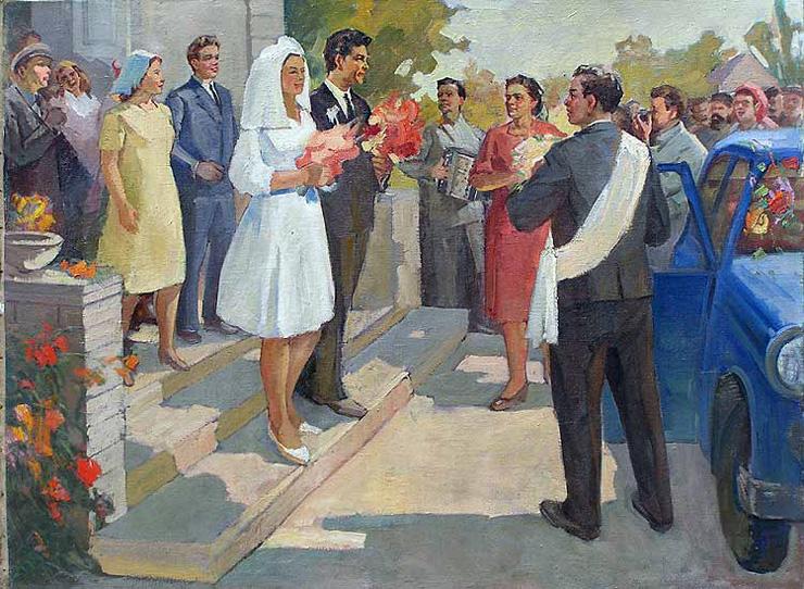 weddings in Soviet Russia 9
