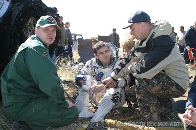 Russian spaceship landing site 12
