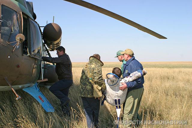 Russian spaceship landing site 19