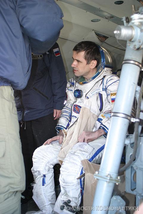 Russian spaceship landing site 20