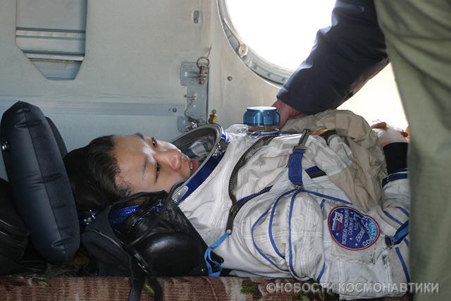 Russian spaceship landing site 21