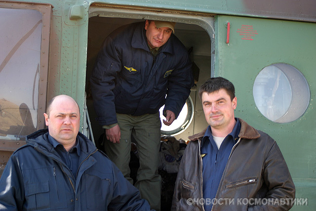 Russian spaceship landing site 22
