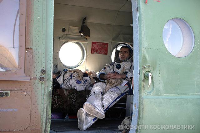 Russian spaceship landing site 23