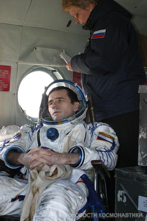 Russian spaceship landing site 24