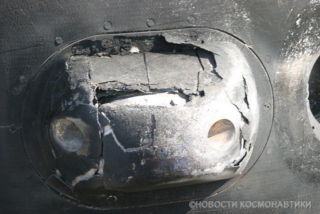 Russian spaceship landing site 49