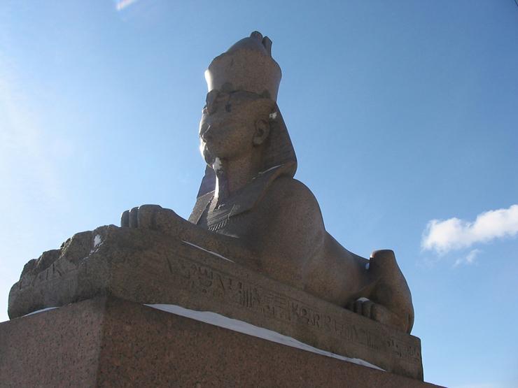 Sphinx in St. Petersburg 1
