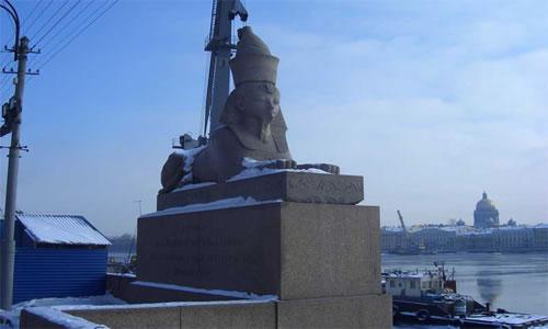 Sphinx in St. Petersburg 4