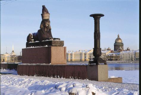 Sphinx in St. Petersburg 6