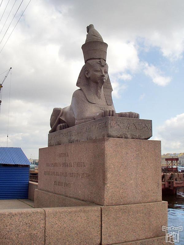 Sphinx in St. Petersburg 7