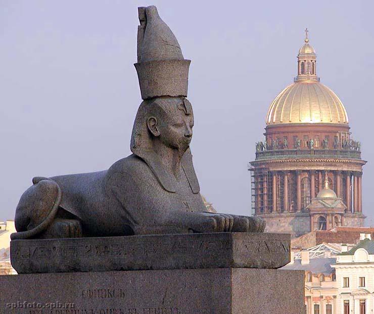 Sphinx in St. Petersburg 9