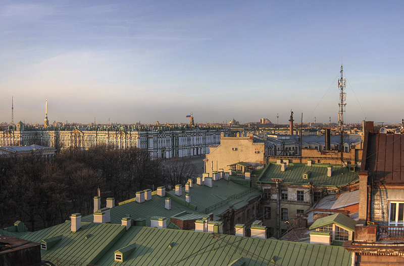 One morning in St. Petersburg, Russia 10