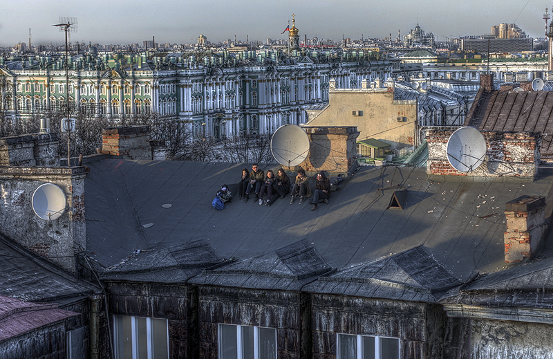 One morning in St. Petersburg, Russia 11