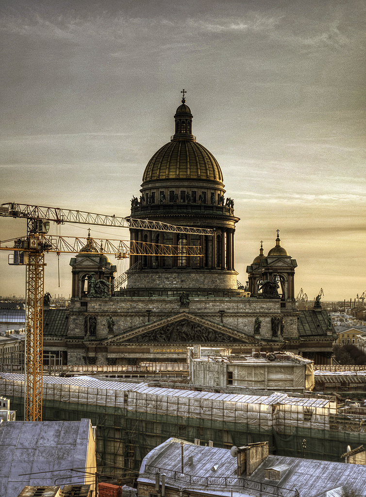 One morning in St. Petersburg, Russia 13
