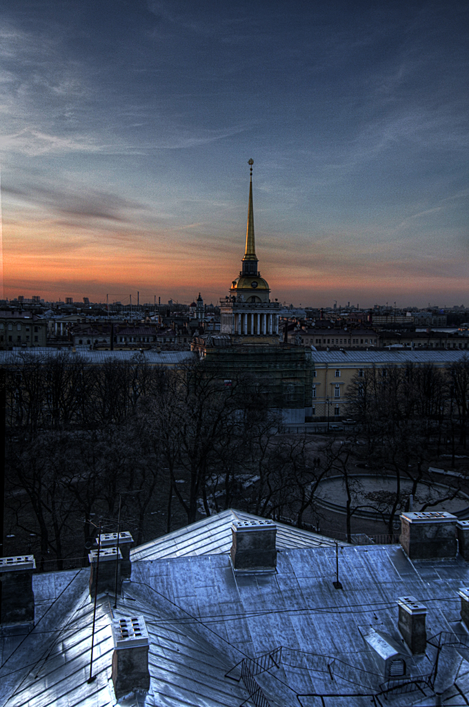 One morning in St. Petersburg, Russia 15