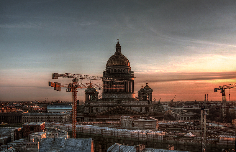 One morning in St. Petersburg, Russia 2