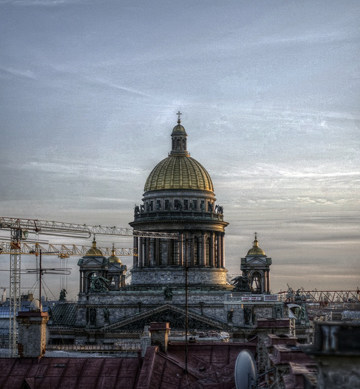 One morning in St. Petersburg, Russia 4