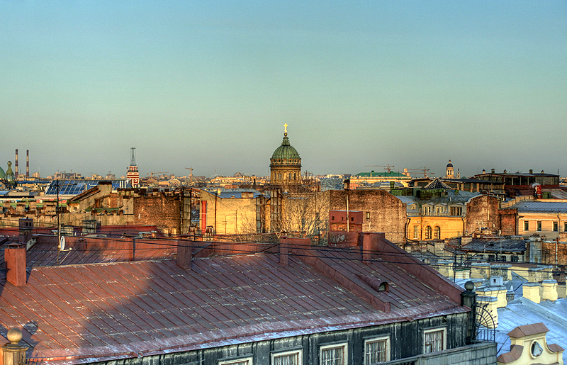 One morning in St. Petersburg, Russia 5