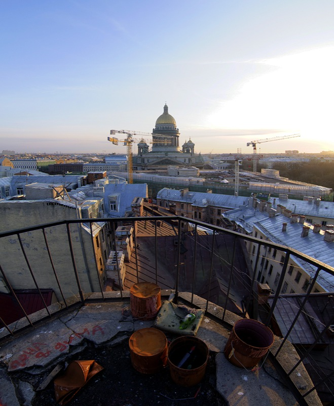One morning in St. Petersburg, Russia 6