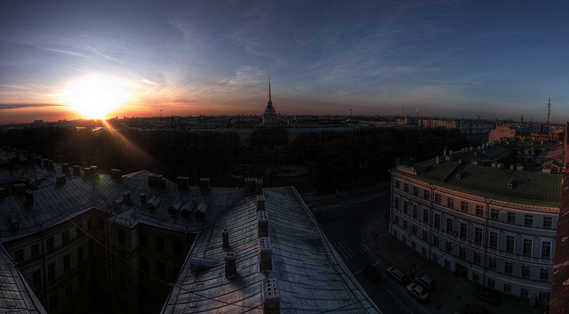 One morning in St. Petersburg, Russia 8