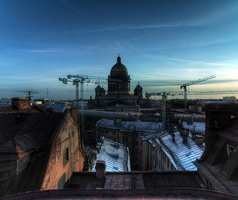 One morning in St. Petersburg, Russia 9