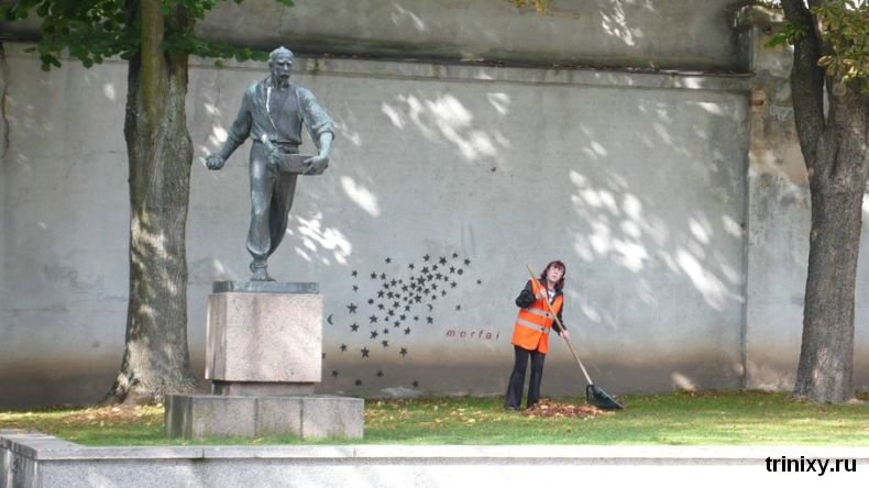 monument of star sower in lithuania 1