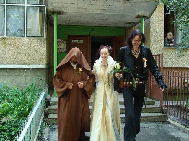 Russian star wars wedding 3