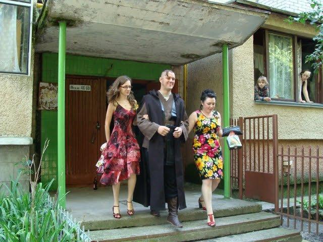 Russian star wars wedding 4