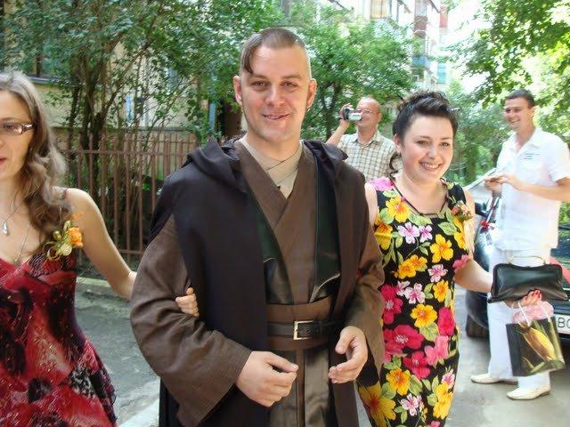 Russian star wars wedding 5