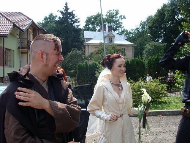 Russian star wars wedding 7