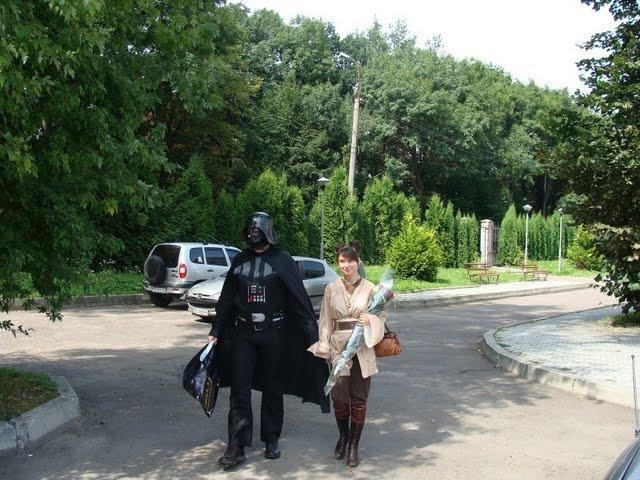 Russian star wars wedding 13