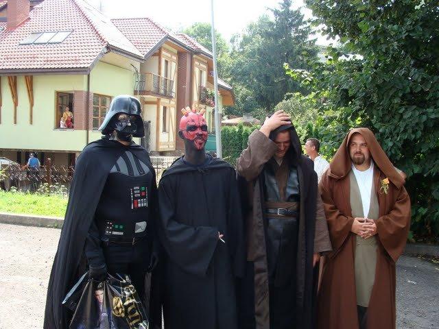 Russian star wars wedding 19