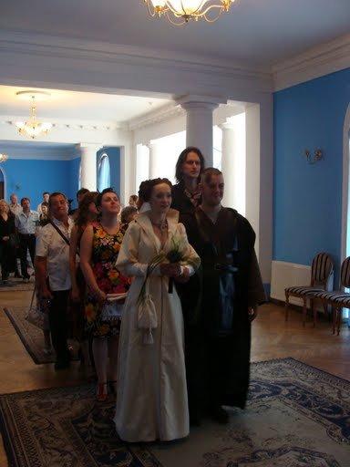 Russian star wars wedding 20