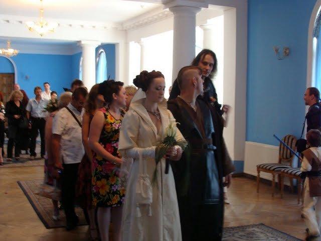 Russian star wars wedding 22