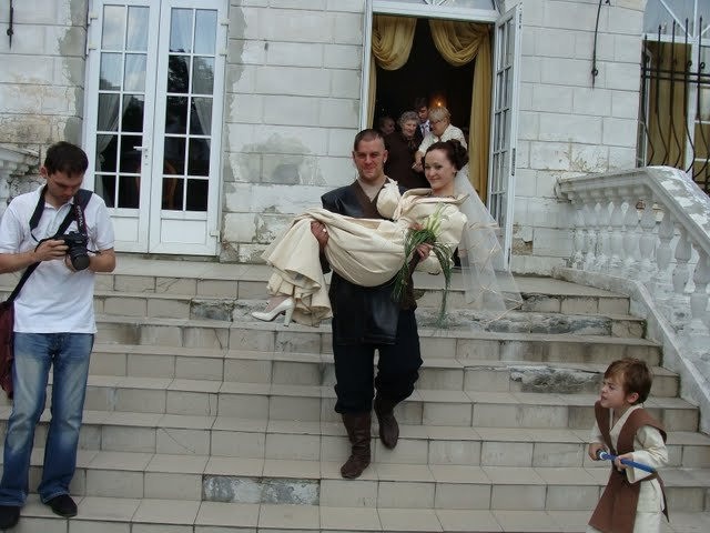 Russian star wars wedding 26