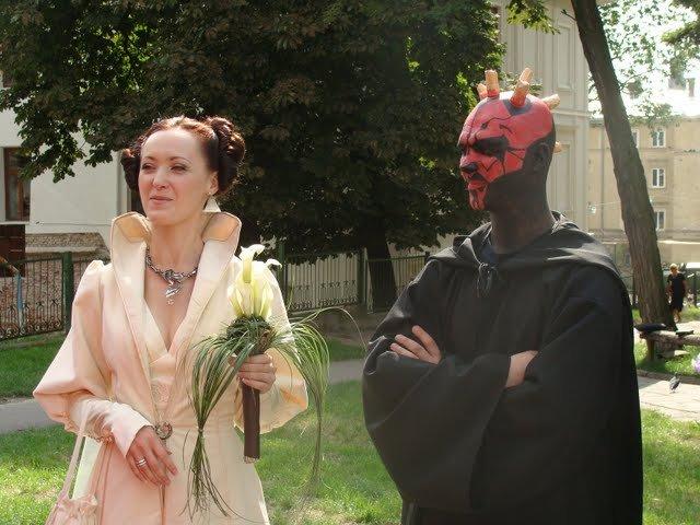 Russian star wars wedding 29