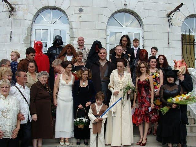 Russian star wars wedding 30