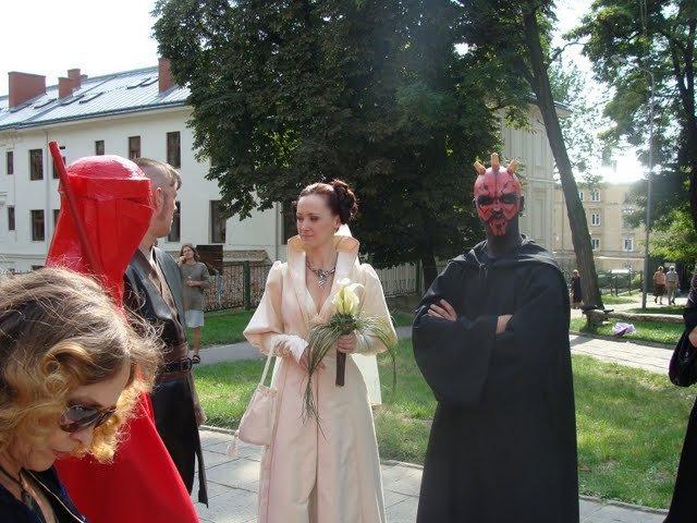 Russian star wars wedding 31