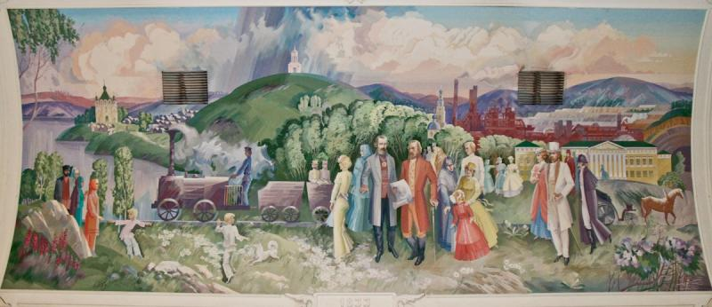 Station Wall Paintings 11