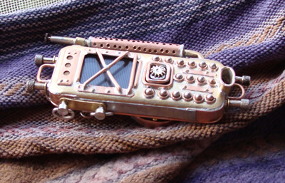 Russian steam punk phone