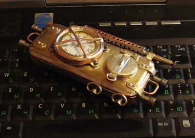 Russian steam punk phone 5