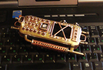 Russian steam punk phone 6