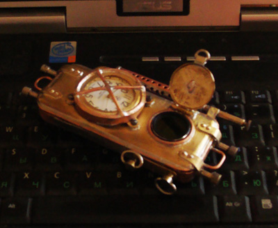 Russian steam punk phone 7