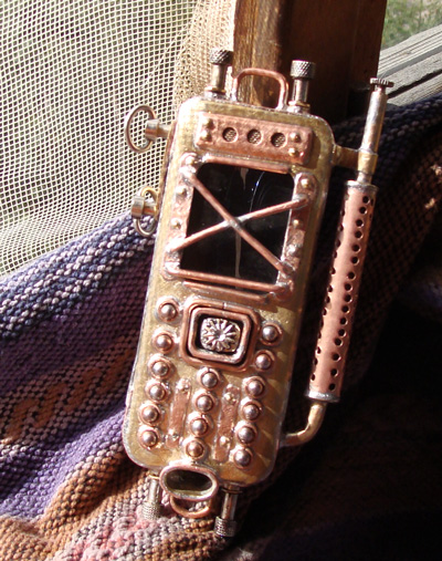 Russian steam punk phone 9